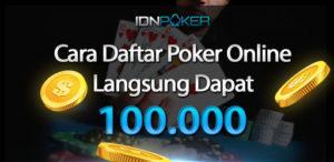 Cara Daftar Poker Online Terbaru Mudah, Aman Dan Nyaman